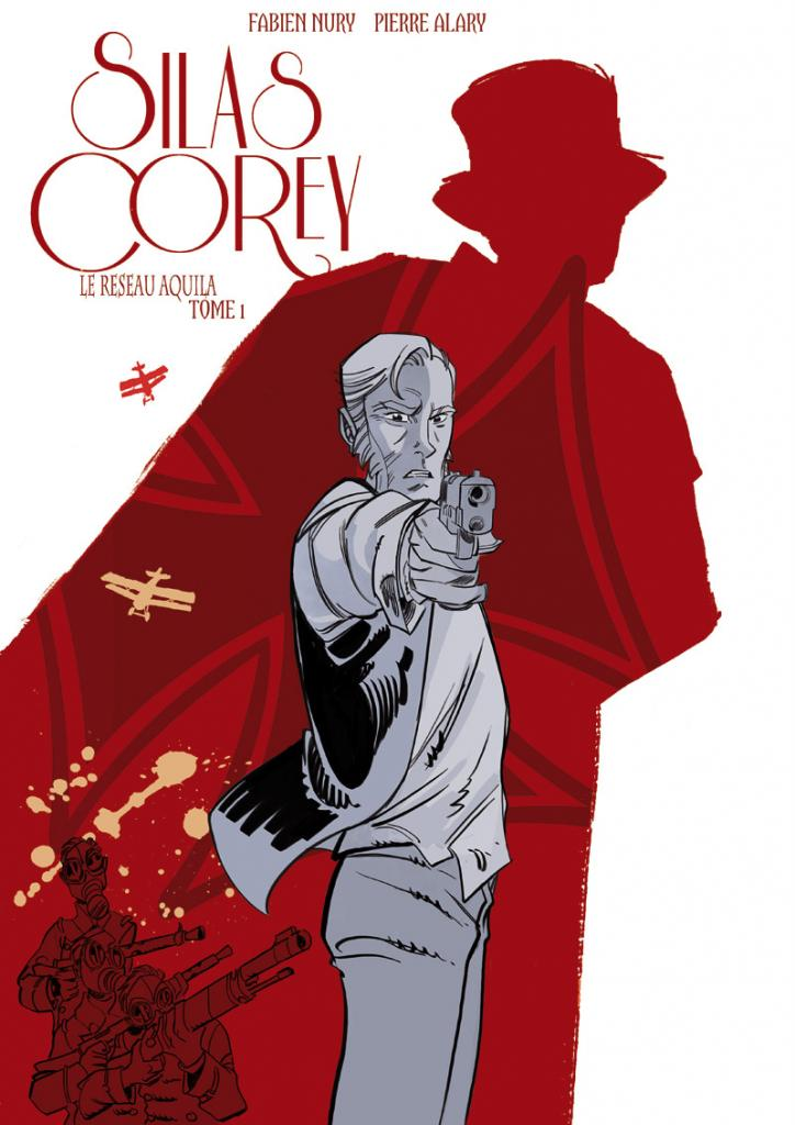 Silas Corey - Tome 1, Alary. Couverture